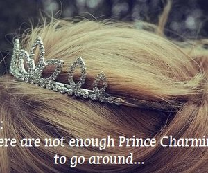 crown, fairytale, and happily ever after image