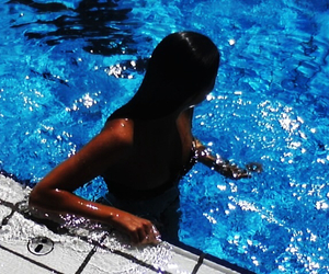 day, nice, and swimming image