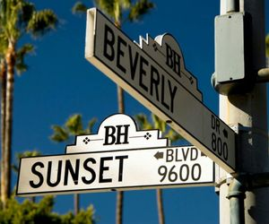 Beverly Hills, los angeles, and sunset image
