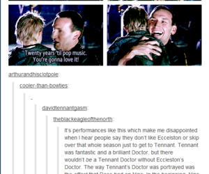 doctor who, christopher eccleston, and ninth doctor image
