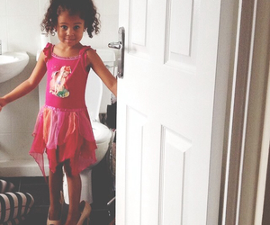fashion, mixed race, and little kids image