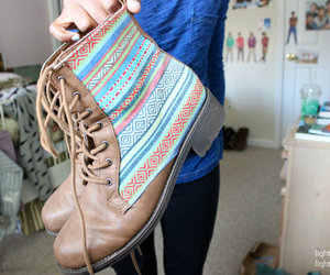 shoes, boots, and tumblr image