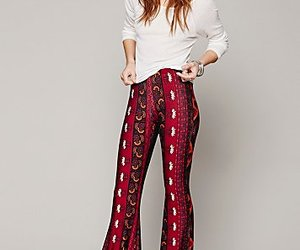 bell, bottoms, and boho image