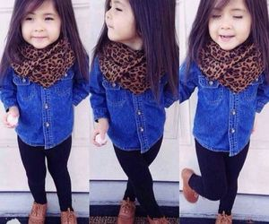 fashion, kids, and outfit image