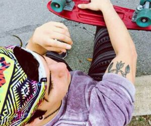 skate, tattoo, and caylen image