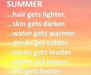 summer, quote, and life image