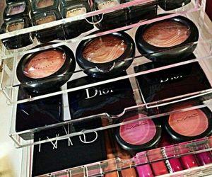 dior, makeup, and mac image
