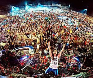 Tomorrowland, steve aoki, and party image