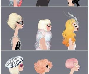 Lady gaga, gaga, and lady image