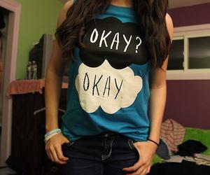 book, shirt, and okay image