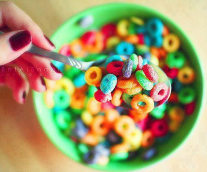 food, cereal, and sweet image