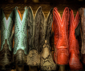 country and cowboy boots image