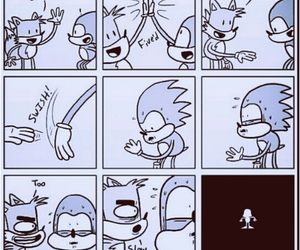 funny, sonic, and lol image