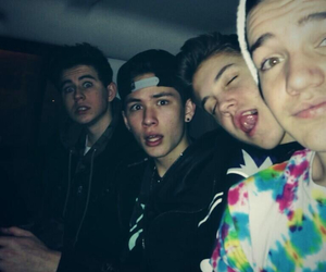 magcon, nash grier, and aaron carpenter image