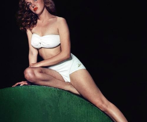1940s, vintage, and Marilyn Monroe image