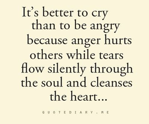 quotes, cry, and angry image