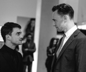 daniel radcliffe and tom hiddleston image