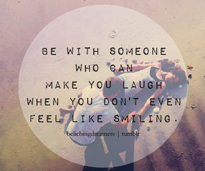 couples, laugh, and life quotes image