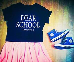 converse, fashion, and school image