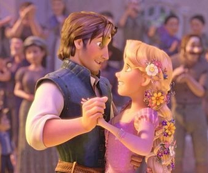 dance, disney, and tangled image