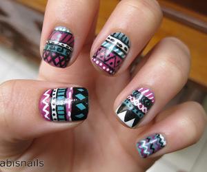 nail art, gradiente, and nails image