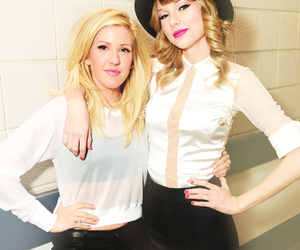 Taylor Swift and Ellie Goulding image