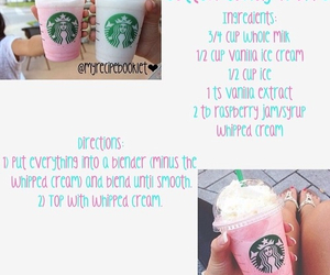 starbucks, diy, and frappe image