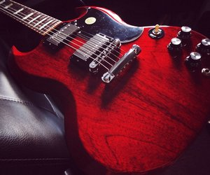 electric guitar and gibson sg image