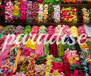 candy, paradise, and sweet image