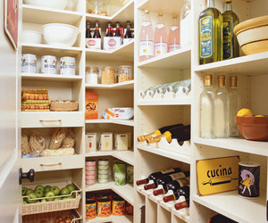 kitchen, organization, and pantry image