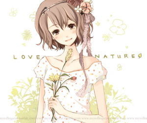 adorable, anime girl, and illustration image