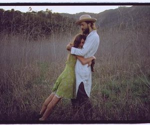 love, edward sharpe, and hug image