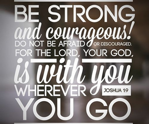 god, strong, and bible image