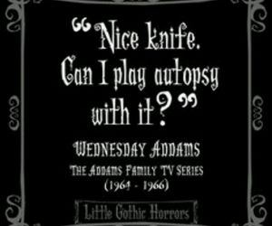 funny, quote, and wednesday addams image