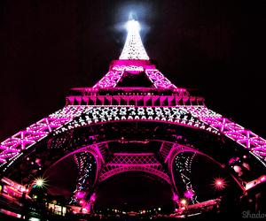 paris, pink, and light image