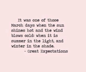 march, quote, and winter image