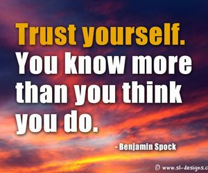 trust and yourself image