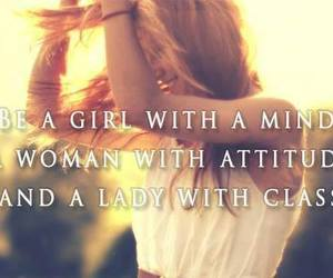 girl, attitude, and lady image