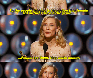 cate blanchett, movie, and oscar image