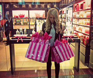 shopping, Victoria's Secret, and pink image