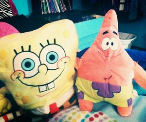 spongebob squarepants, cute, and patrick starr image