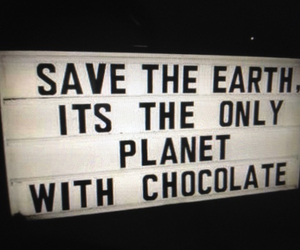 planet and earth chocolate image
