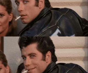 grease, John Travolta, and danny zuko image
