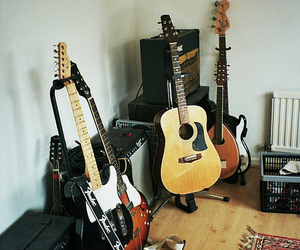 guitar, indie, and lovely image