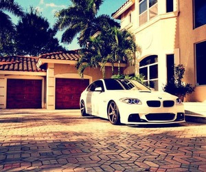 bmw, car, and house image