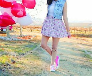 balloons, bethanymota, and fashion image