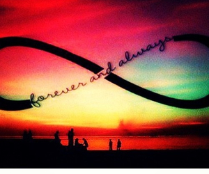 always, infinity, and love image
