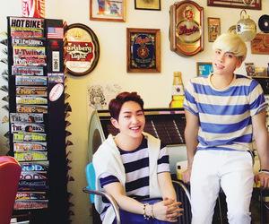 Jonghyun, Minho, and Taemin image