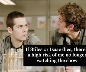 teen wolf, isaac lahey, and true image