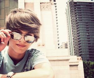 boy, cute, and sunglasses image